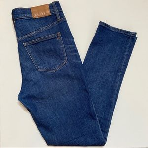Madewell High Rise Slim Boy Jean
